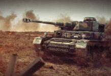 нашли боевой танк Panzer IV