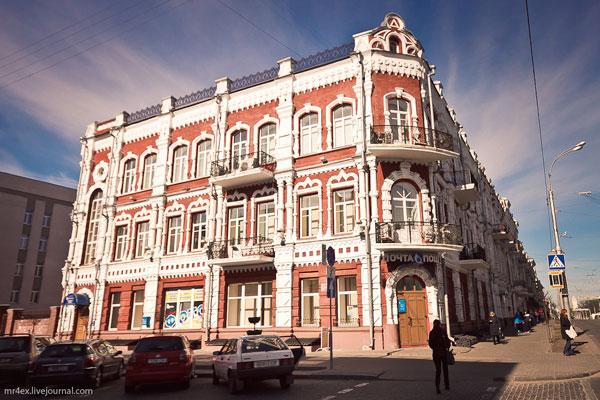 Доходный дом Лейбы Маянца в Гомеле (архитектор С. Шабуневский)