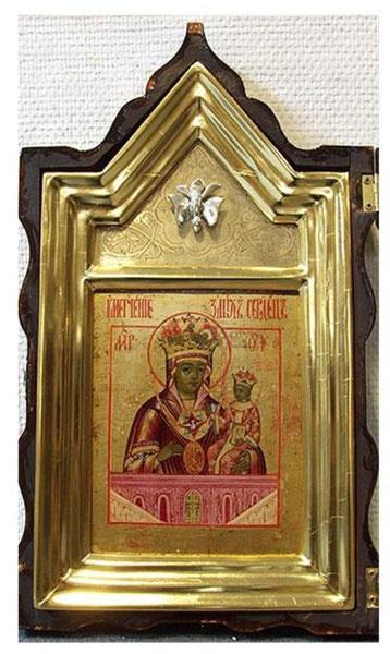 Богоматерь Умягчение злых сердец(XVIII в., старообрядческая Ветка, аукционный дом «Гелос»:www.gelos.ru)