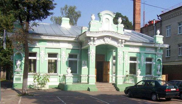 Дом врача Наума Александрова в Гомеле(архитектор С. Шабуневский)