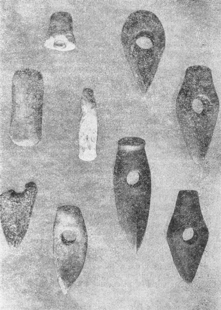 Каменные топоры