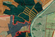 Казацкія Балсуны. Карта 1886 г.