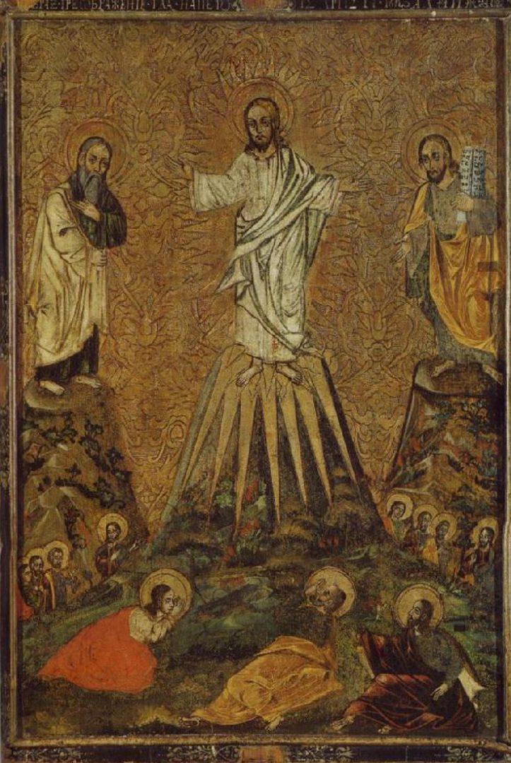 """Малюнак 2 - абраз """"Праабражэнне"""", г. Маларыта Брэсцкай вобл., 1648 г."""