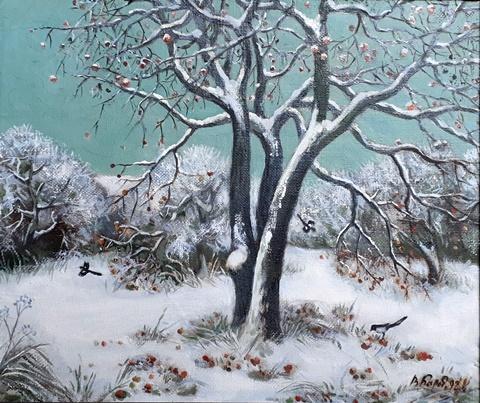 Ранні снег. Віктар Барабанцаў