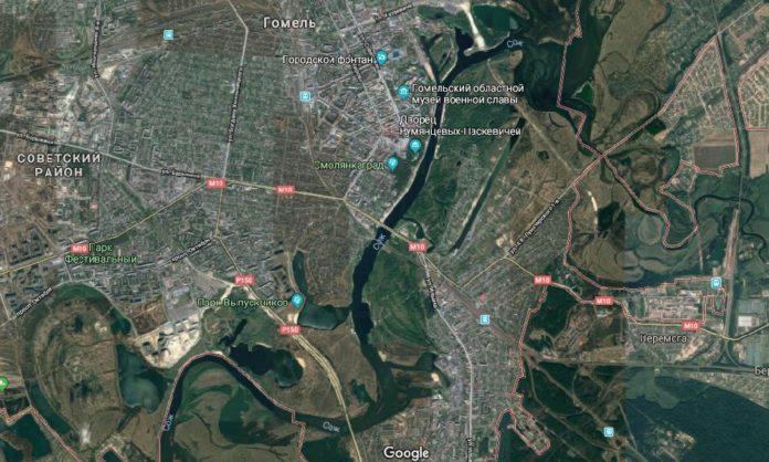 Анализ развития градостроительного каркаса г. Гомеля