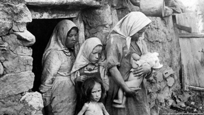 Да пытання аб дапамозе насельніцтва Ўсходняга Палесся галадаючым Паволжа