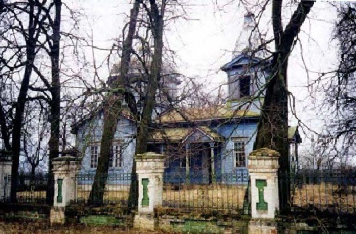 История прихода Свято-Михайловской церкви, бывшей в селе Вылево Добрушского района