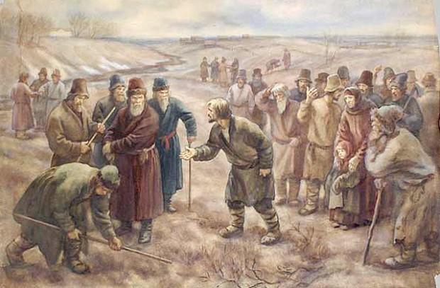 Общинные традиции и попытки решения земельного вопроса на Гомельщине в первые годы советской власти (1917-1921 гг.)