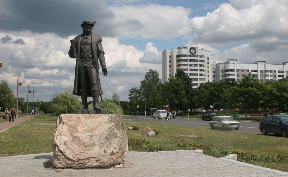 У якім горадзе Беларусі ўпершыню паставілі помнік свайму заснавальніку