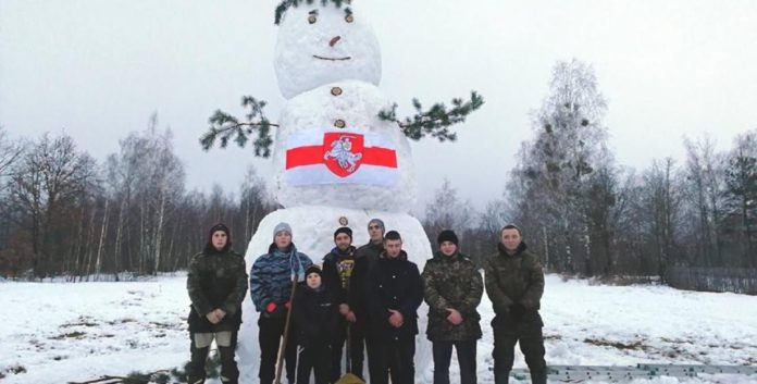 Снегавік на Гомельшчыне