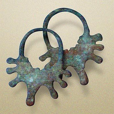 Рис. 6. Семилучевые височные кольца радимичей