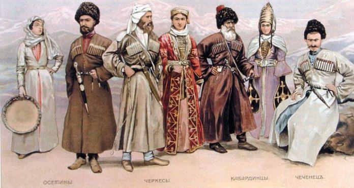 Титульные этносы кавказских и среднеазиатских республик в составе населения белорусско-российско-украинского пограничного региона в 1920-1930-е годы (1)