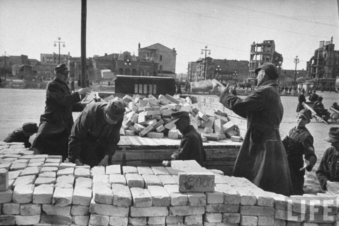 К вопросу об участии военнопленных в послевоенном восстановление Гомеля