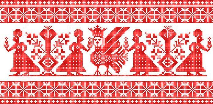 Особливості антропоморфних зображень в народній орнаментиці українсько-російсько-білоруського Полісся