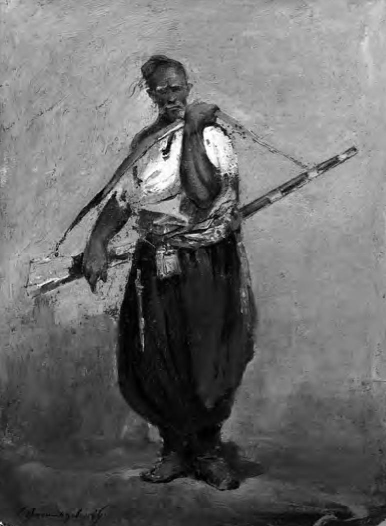 № 26. Тып запарожца. Мастак Сяргей Васількоўскі. 1900 г.