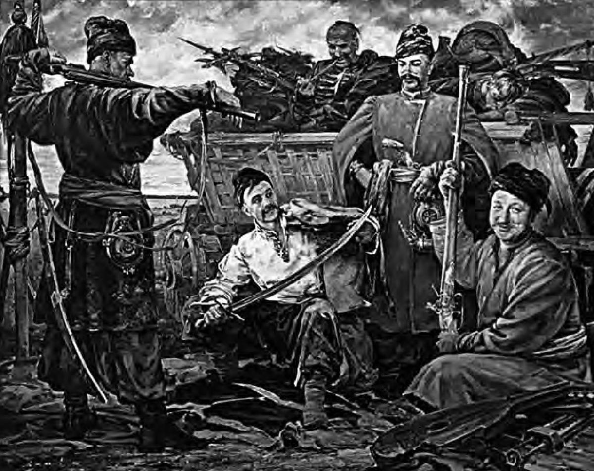 № 27. Дняпроўскія казакі