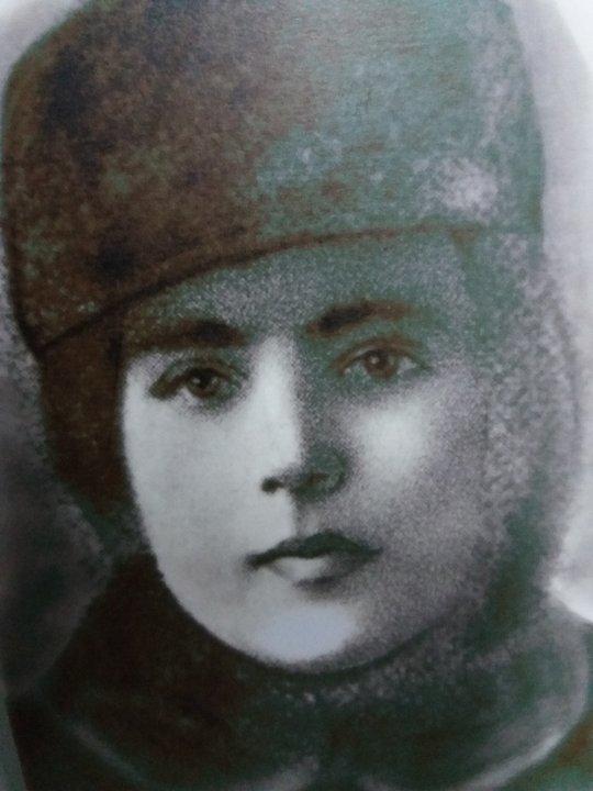 Песя Каганская, убита стрекопытовцами вмарте 1919 года. Фонды Гомельского областного музея военной славы