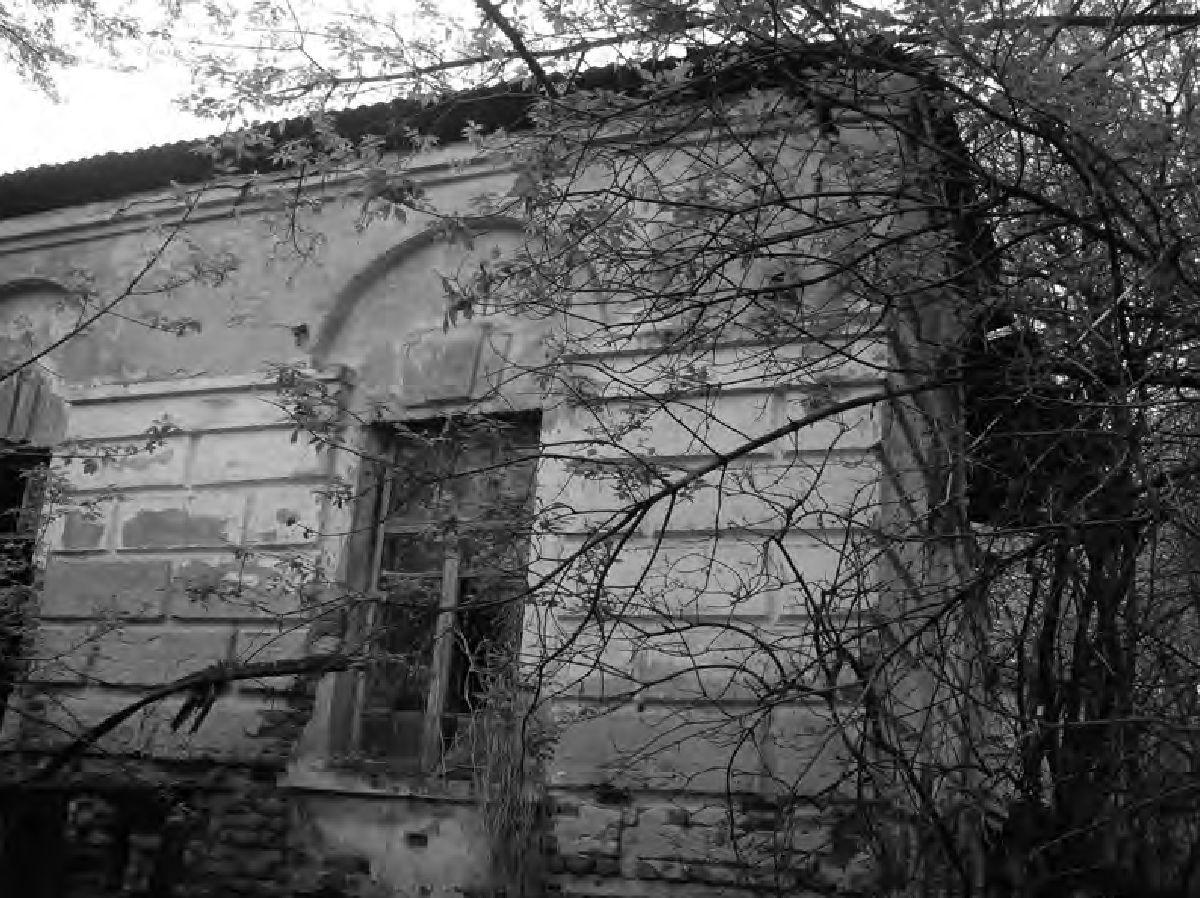 Ил. 10. Один из двух флигелей в Остроглядах. Фото Е.Н. Касперовича. 2011 г.
