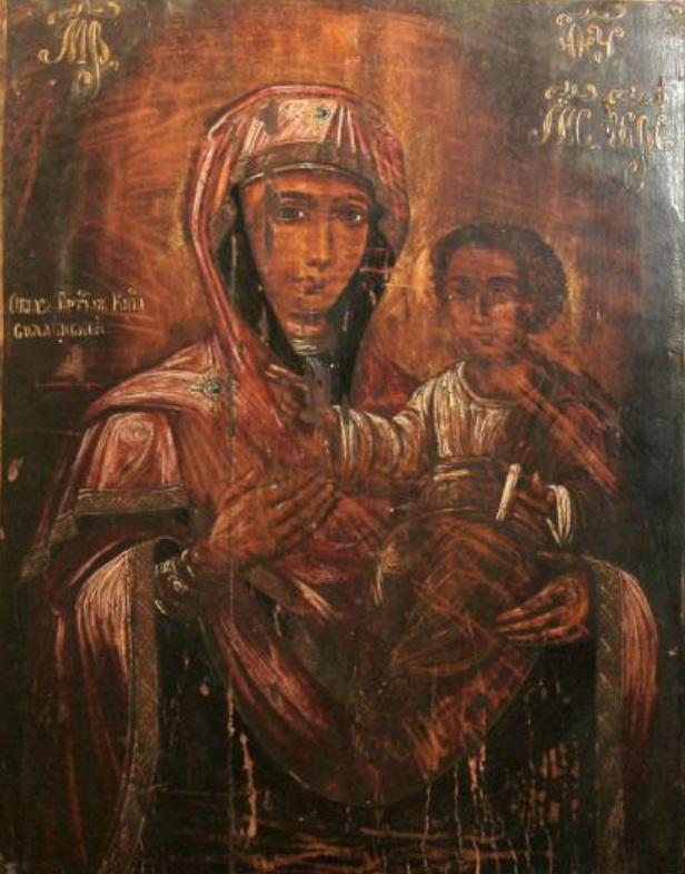 Малюнак 1 — Божая Маці Смаленская