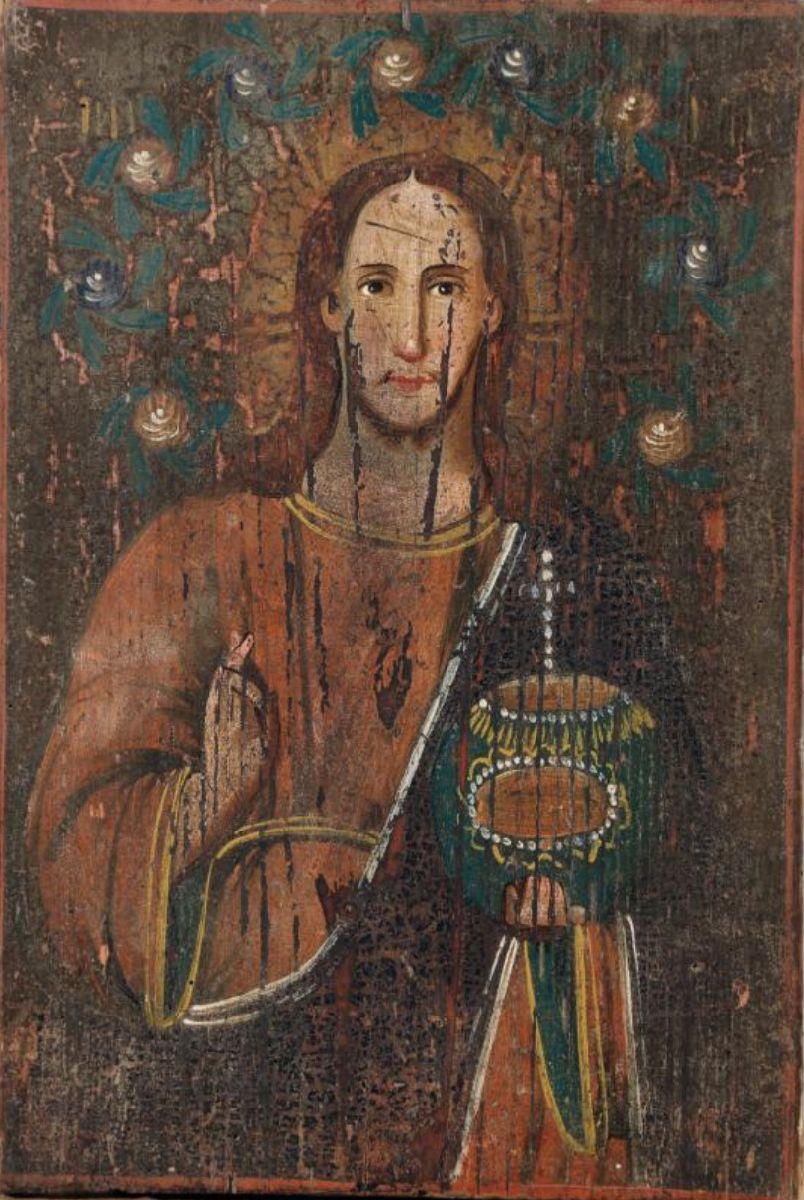 Малюнак 2 — Хрыстос Збавіцель