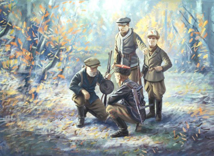Партизанское движение на территории Октябрьского района